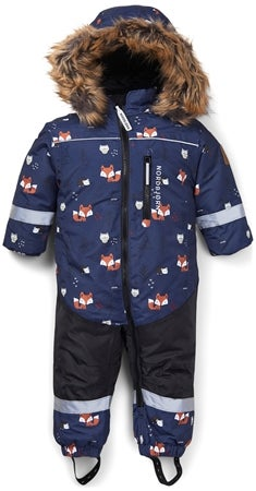 Nordbjørn Igloo Babydress, Navy Woodli