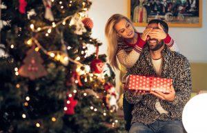 Julegave til han
