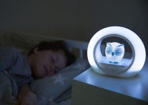 Nattlampe for barn