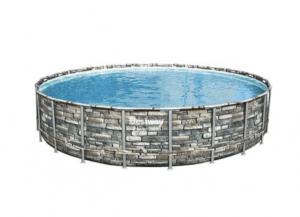 Bestway Power Steel Pool Med Tilbehør