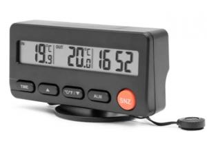Rubicson Kjøretøytermometer med vekkerklokke